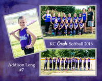 KC Crush Softball 2016